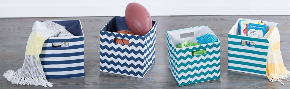 organize clutter kid room playroom living room laundry room cube organier
