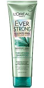 Ever, shampoo, sulfate free, loreal