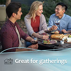 great for gatherings
