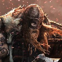 ヴァイキング 近接戦闘 戦士 斧