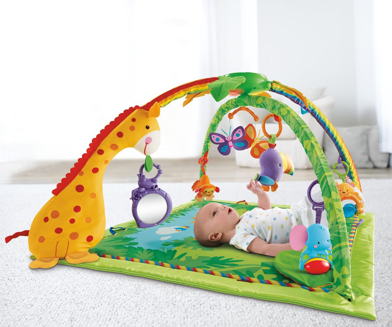 Amazon Com Fisher Price Rainforest Melodies And Lights