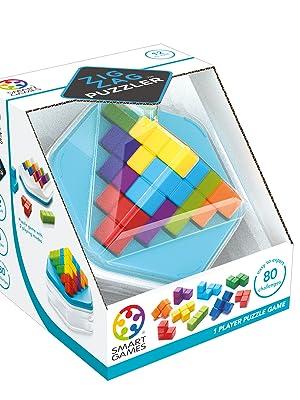 smart games Zigzag Puzzler – Puzzle 3D, Mesa niños, Juego de Viaje, Rompecabezas educativos (SG414): Amazon.es: Juguetes y juegos
