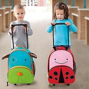 Zoo, Luggage, Kids Luggage, Skip Hop, Toddler