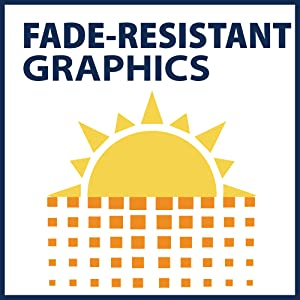 Fade resistant graphics