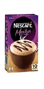nescafe mocha coffee sachet