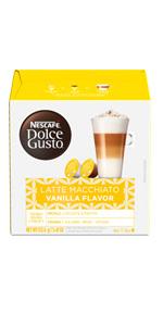 nescafe dolce gusto vanilla latte macchiato