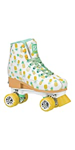 Lucy adjustable quad roller skates for kids