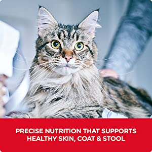 Precise nutrition that supports healthy skin, coat & stool