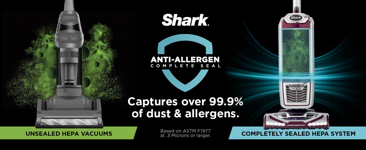 hepa vacuum, hepa filter, clean air vacuum, anti allergen complete seal