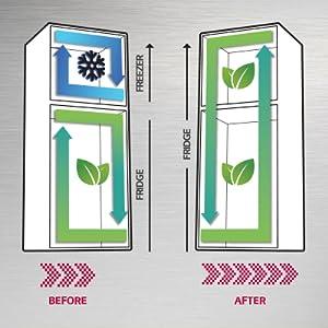dual fridge