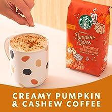Creamy Pumpkin & Cashew Coffee