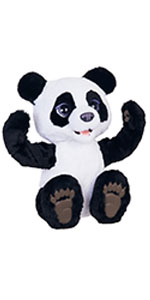 plum the panda, plum, panda, furreal, fur, real, interactive, plush