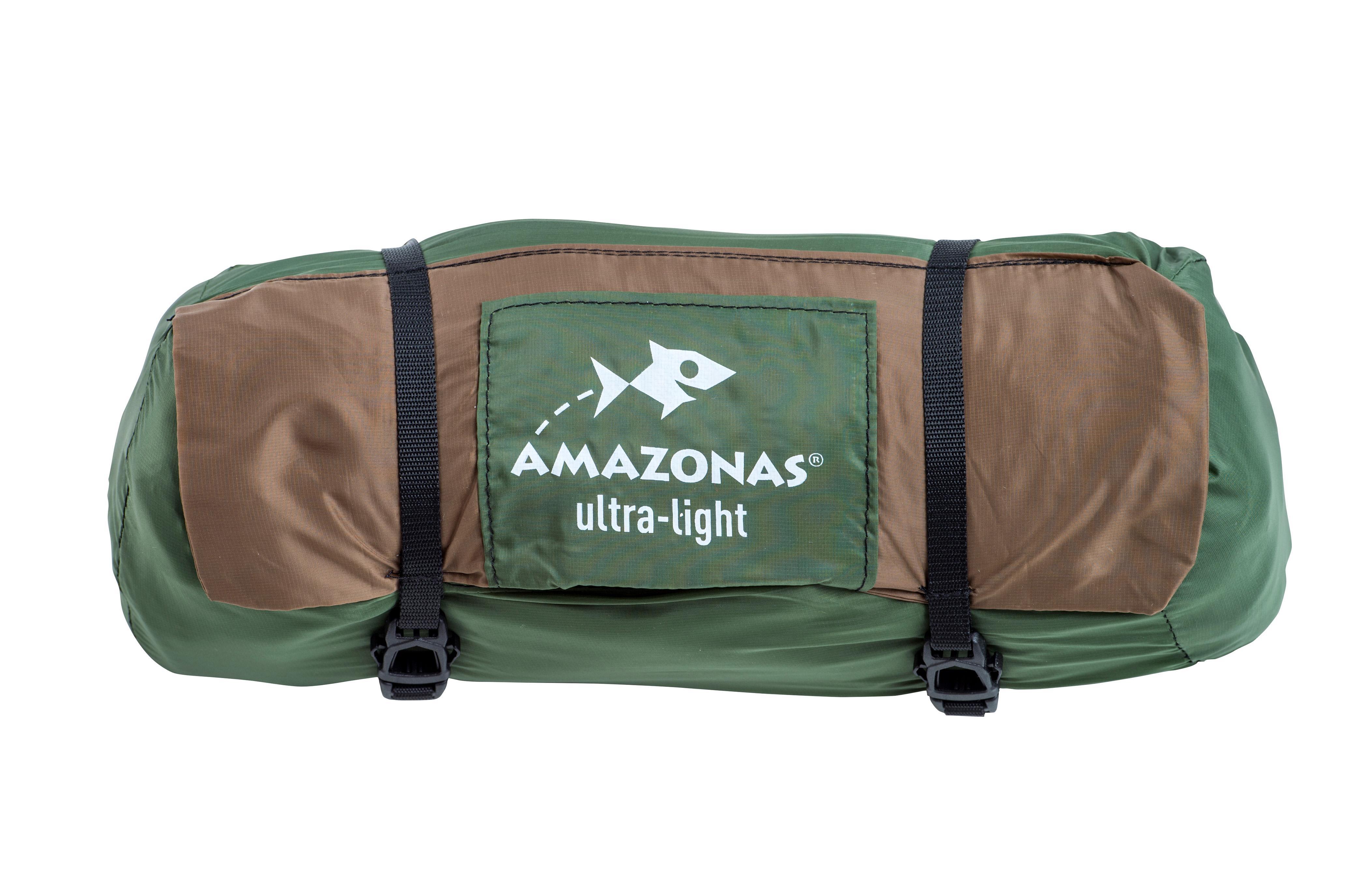 Amazonas Hängematte Moskito Adventure Thermo Leichthängematte leicht Moskitonetz