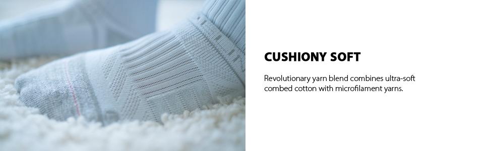 cushiony soft