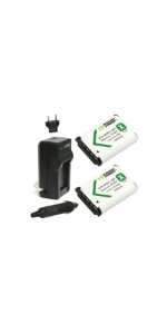Wasabi Power Batteries + Charger Kit for Sony NP-BX1