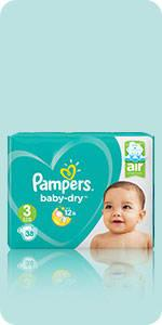 Pampers Baby-Dry Nappies