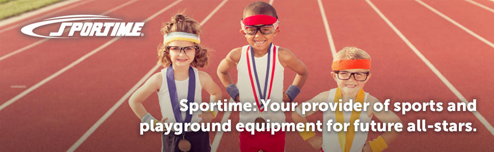 Sportime: your provider of sports and playground equipment for future all-stars.