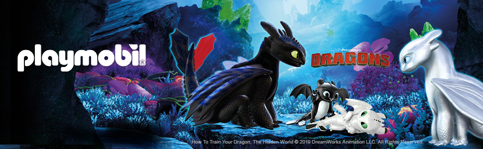 PLAYMOBIL DreamWorks Dragons Bocón con Lanzadera de Ovejas, A ...