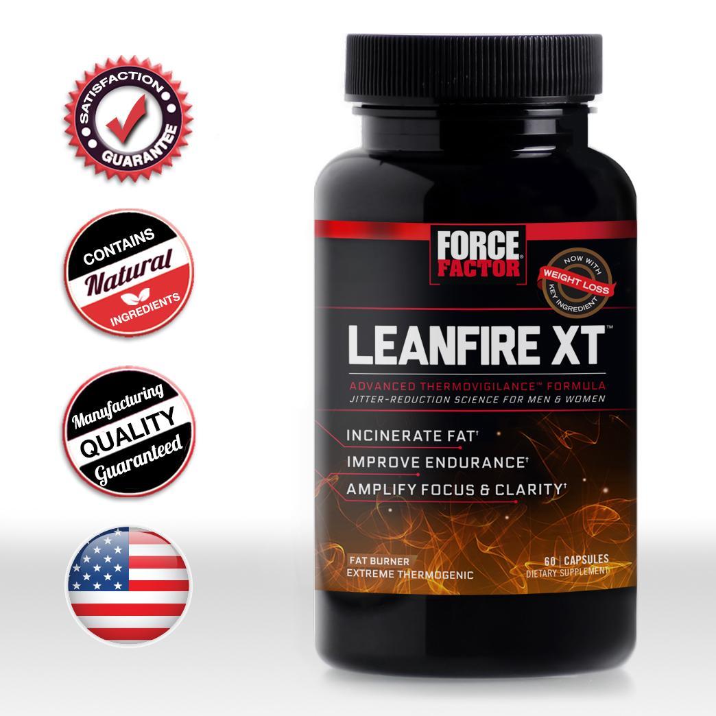 Amazon.com: Force Factor LeanFire XT Thermogenic Fat