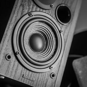 Bluetooth-högtalare, bokhyllhögtalare, Bluetooth-stereo, skivspelshögtalare, skivspelarhögtalare