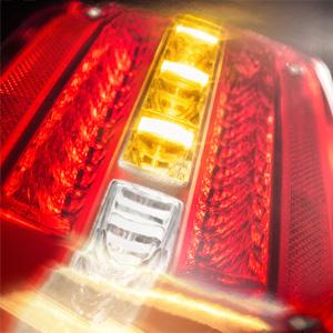 Steckhülsengeh/äuse HELLA 2XS 011 769-011 LED Gummiarm-Umrissleuchte mit integrierter Seitenmarkierungsleuchte EasyConn 2-pol horizontal links 500 mm Leitung