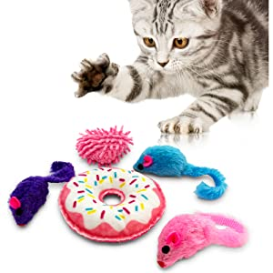 Pet Craft Supply Co Donut Pack Cat Toy