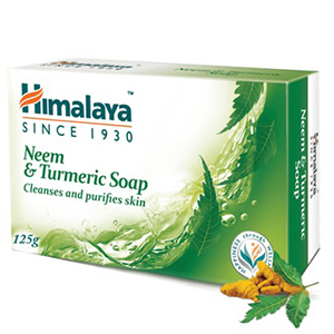 Himalaya Neem and Turmeric soap