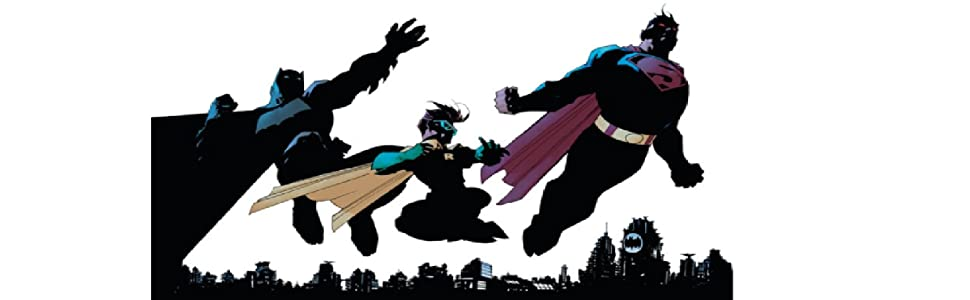 trio batman robin superman image
