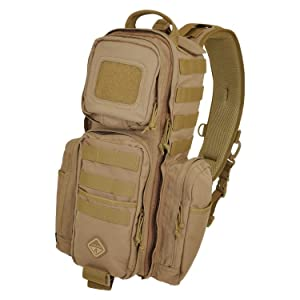 4879afdf1b30 Amazon.com   HAZARD 4 Rocket(TM) Urban Sling Pack - Black   Tactical ...