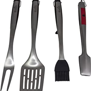 4,piece,comfort,grip,tool,set,grill,grilling,tools
