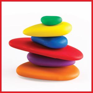 Amazon.com: edx Education Rainbow Pebbles - Sorting and ...