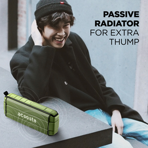 Passive bass radiator for extra thump