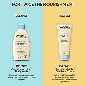 aveeno dermexa, eczema lotion, eczema wash