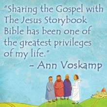 Sharing,the, Gospel, with, The, Jesus, Storybook, Bible, has, been, one of the, greatest, privileges