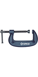GROZ 4-inch C-Clamp
