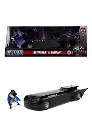 batmobile batman animated series, metals diecast die cast hollywood rides vehicle car figure