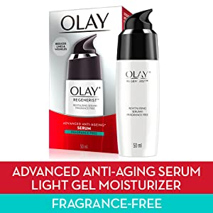 Serum, olay, face cream, moisturiser, face moisturiser, anti-aging,anti aging, olay regenerist
