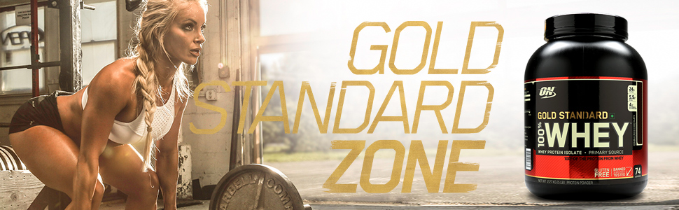 Optimum Nutrition Whey Gold Standard, Whey proteins, Best Protein, What is your Gold Standard Zone?