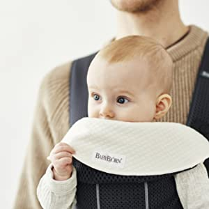 Babero para Mochila Porta Bebé Mini, 2 uni
