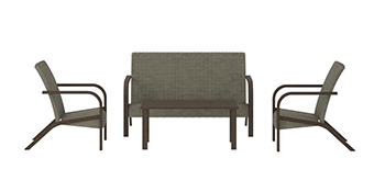 Amazing Cosco Outdoor Living 88462Qdte Outdoor Furniture Set Gray Download Free Architecture Designs Barepgrimeyleaguecom