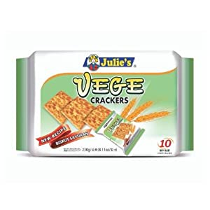 Julie's Vege Crackers