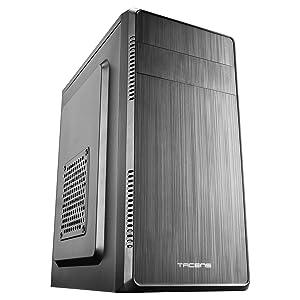 Tacens Anima ACM500, Caja PC Micro ATX + Fuente PC 500W, Compacta, USB 3.0, Aluminio: Amazon.es: Informática