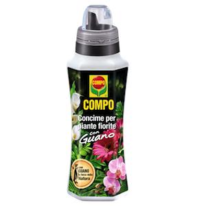 fertilizzante liquido piante fiori guano