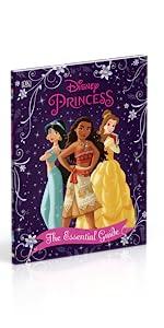 Disney Princess activity book, Moana, Belle, Jasmine