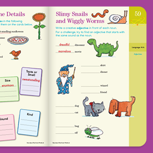 word games, matching, fill in the blank, educational activities