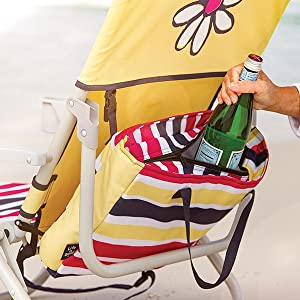 Life is Good Beach Chair - Removeable Cooler