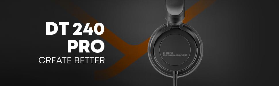 dt 240 pro studio headphones