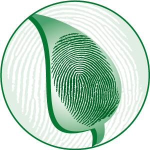 Fingerprint technology, botanical, supplement, herbal