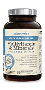 Womens Brain Support Whole Food Multivitamin ...