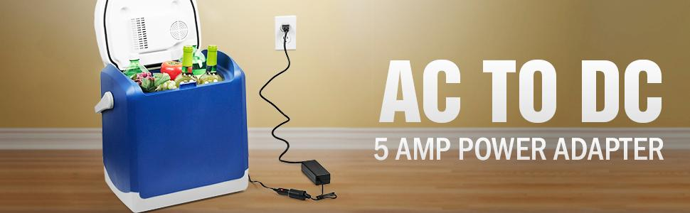 AC to DC adapter, ac to dc converter, cigarette plug converter, converter, adapter, 12v to 110v